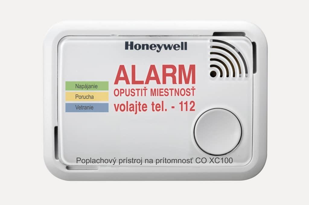 Poplachovy pristroj, Honeywell, plyn