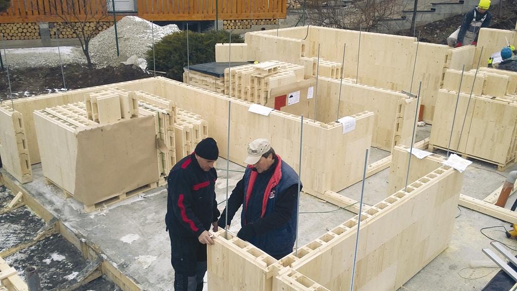 Stavebný systém z dreva – STEKO
