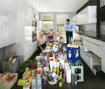 Ulozenie potravin v kuchyni