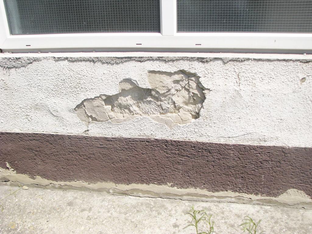 Viditeľné poruchy stavby