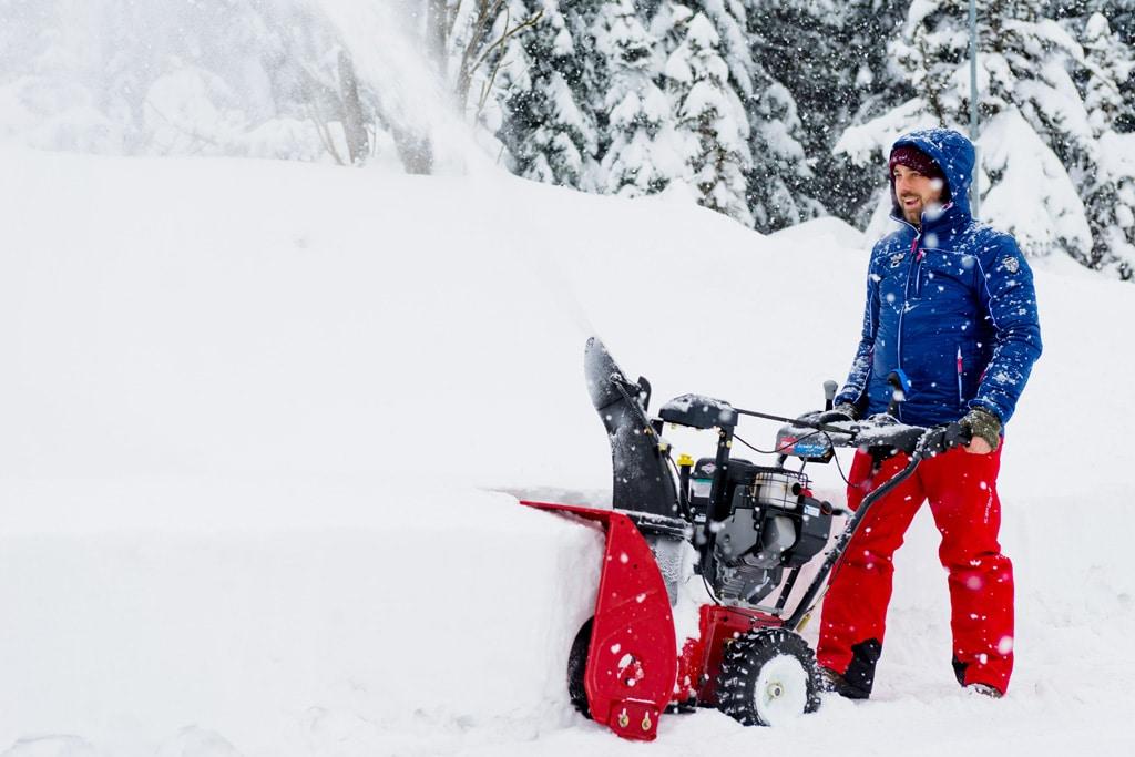Využitie snehovej frézy