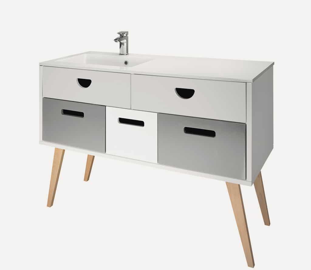 Dreja Koupelnovy Nabytok Rada RETRO Individualni Uprava Povrch