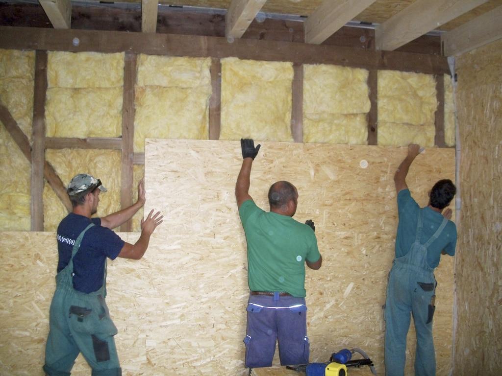 Netradične riešená drevostavba so stĺpikovou konštrukciou