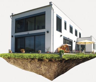 Energeticky úsporný a sebestačný dom, ostrovný dom