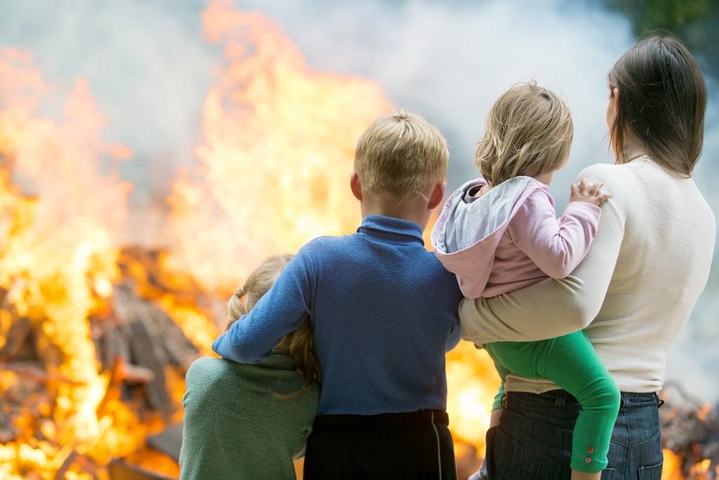Zabezpečte svoje bývanie proti ohňu