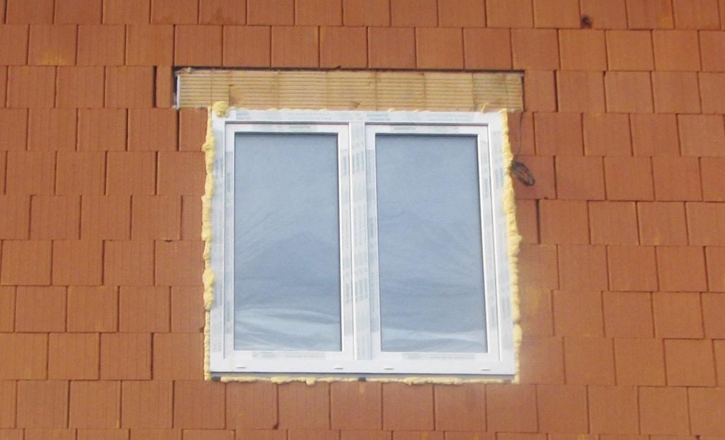 Nesprávna montáž okna