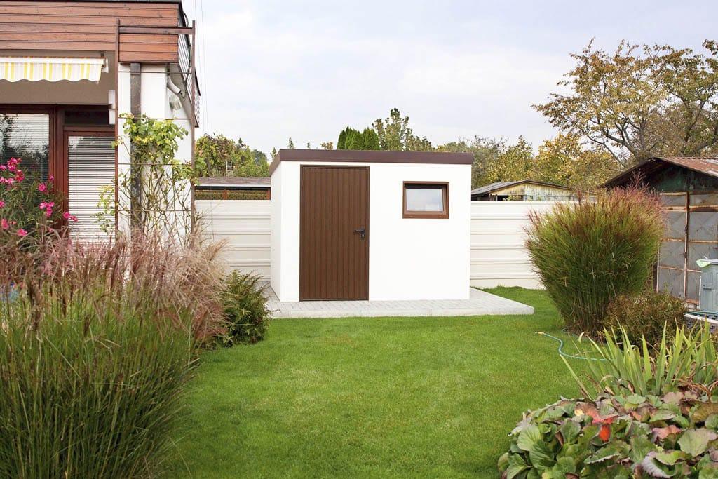 Jednoducho, rýchlo, kvalitne a svojpomocne, stavba záhradného domčeka, Gardeon