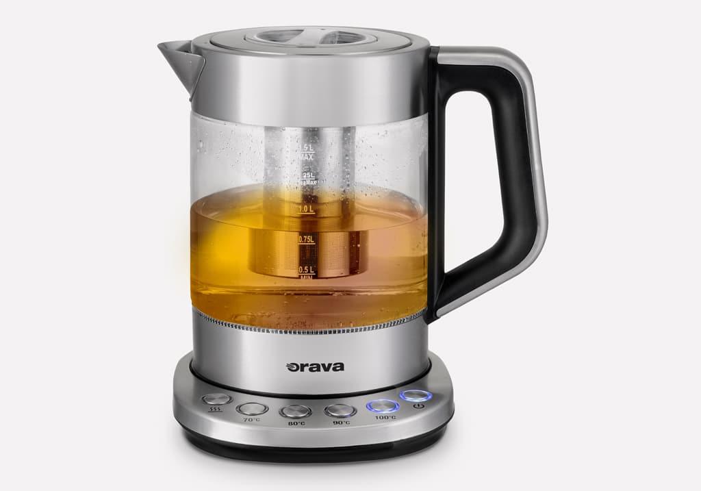 S ktorými pomocníkmi si pripravíte pestré raňajky rýchlo a ľahko, Orava VK-4000_tea