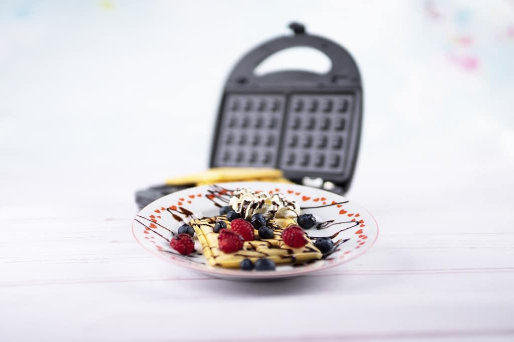 S ktorými pomocníkmi si pripravíte pestré raňajky rýchlo a ľahko, wafle_Orava ST300 A_foto k receptu