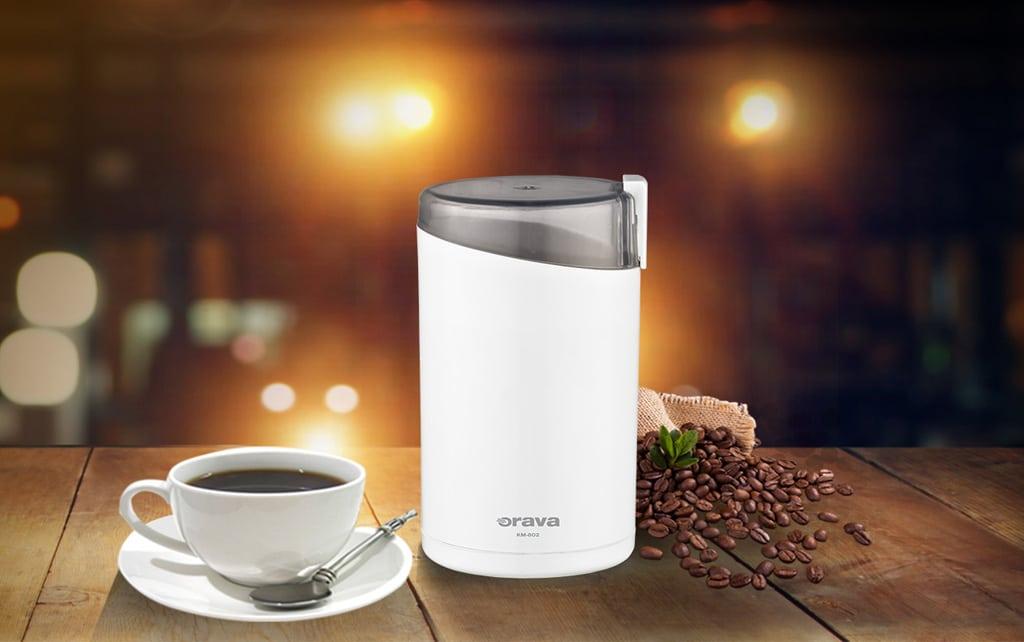 Domáca kaviareň – aký kávovar vám aj v pohodlí domova vyčaruje poctivé espreso, Orava mlyncek na kavu