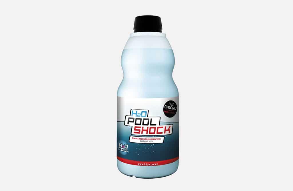 Ide to aj bez chlóru, iDry, dezinfekcia povrchov, H2O Pool Shock 1l