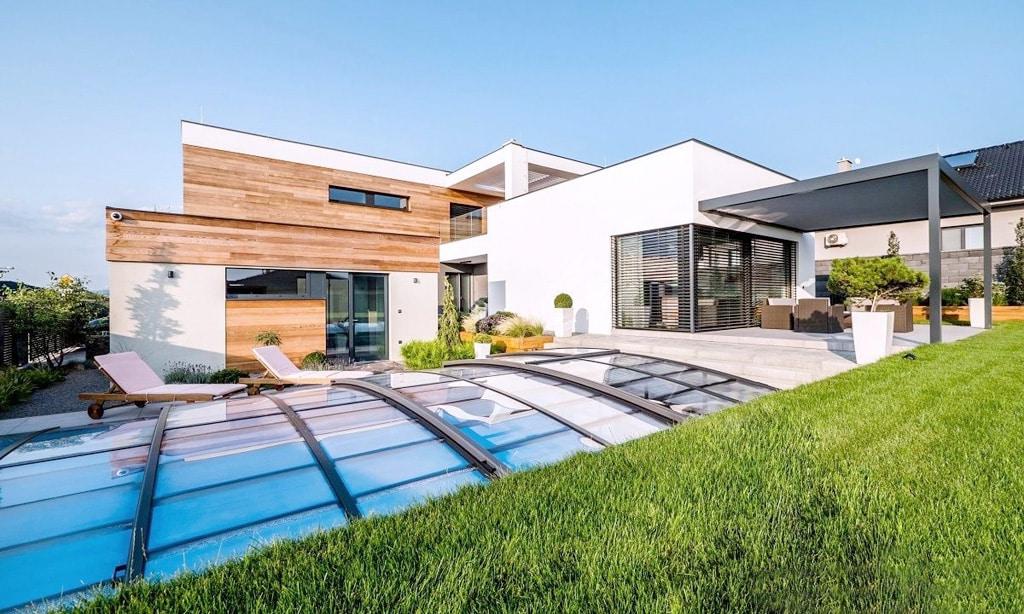 Murovaný alebo montovaný drevený dom Ktorý je lepší, 438 Rodinný dom, Trenčianska Turná