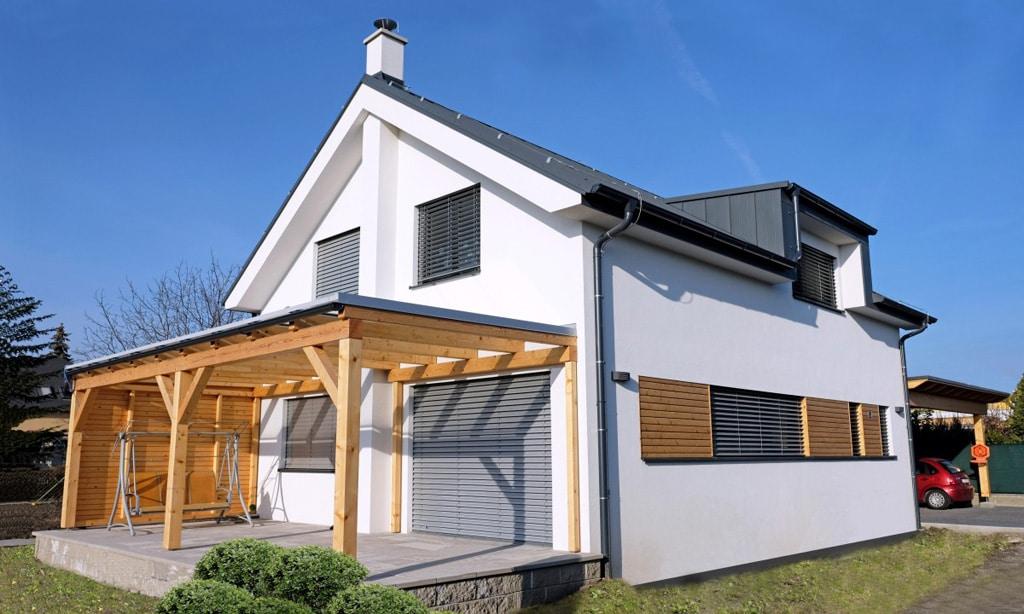 Murovaný alebo montovaný drevený dom Ktorý je lepší, 475 Rodinný dom, Podunajské Biskupice