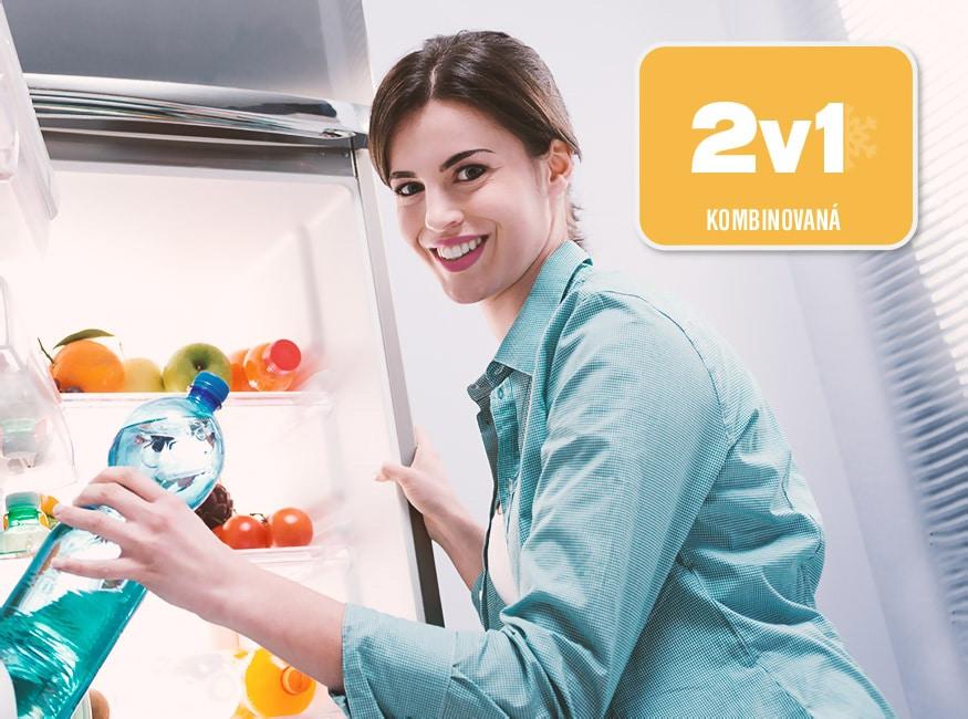 Podľa čoho vybrať chladničku a ako do nej ukladať potraviny, kombinovaná, Orava