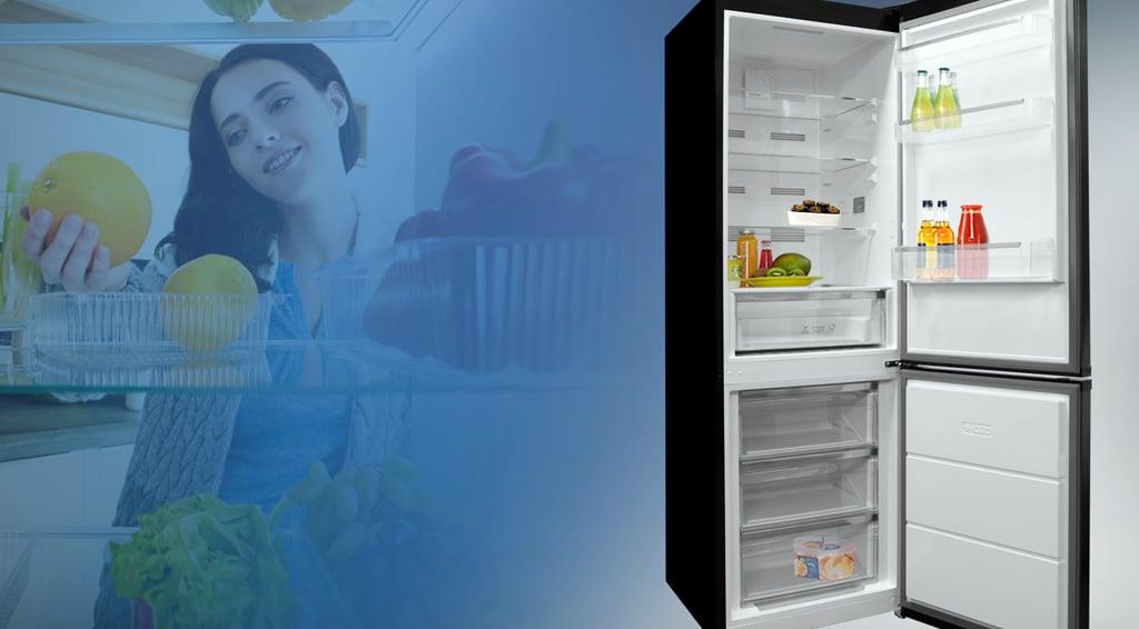 Podľa čoho vybrať chladničku a ako do nej ukladať potraviny, Orava