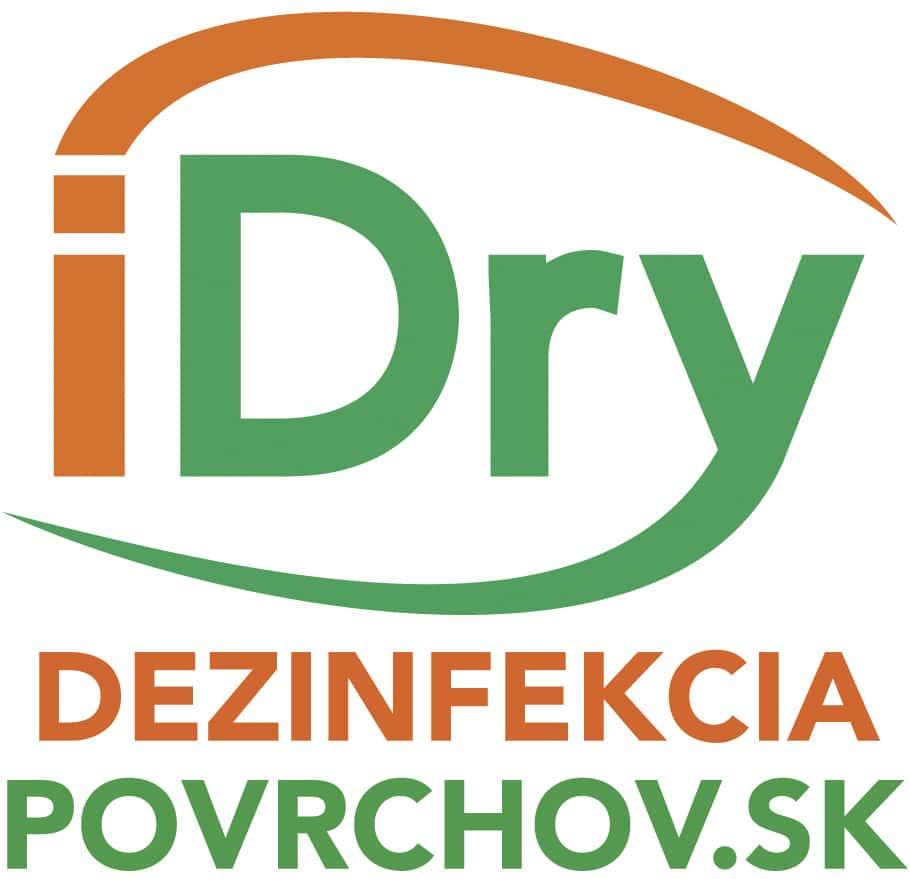 logo iDry, dezinfekcia povrchov