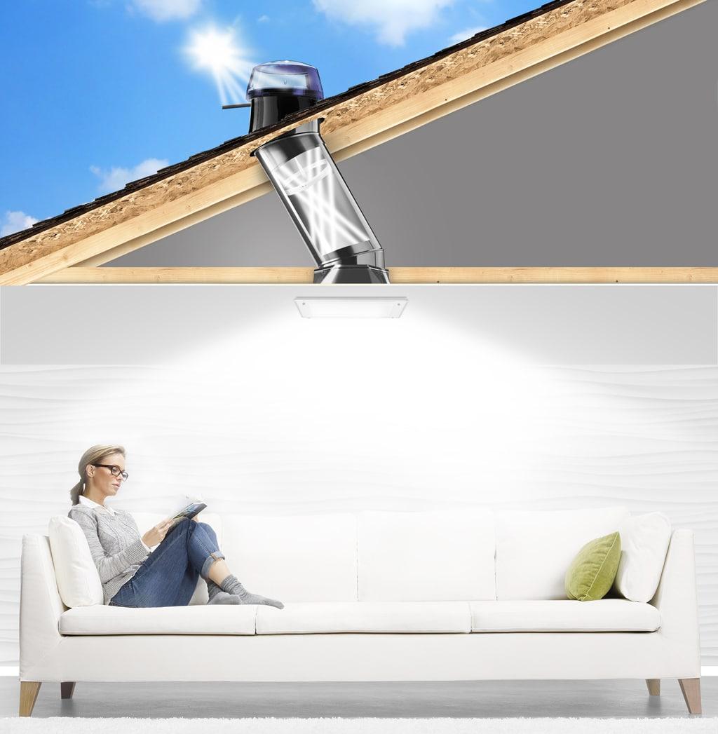 Svetlovody SOLATUBE s reguláciou denného svetla5