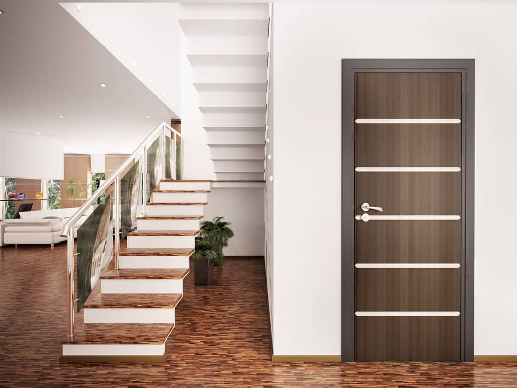 Dvere – záruka súkromia a komfortu bývania, Jednokrídlové