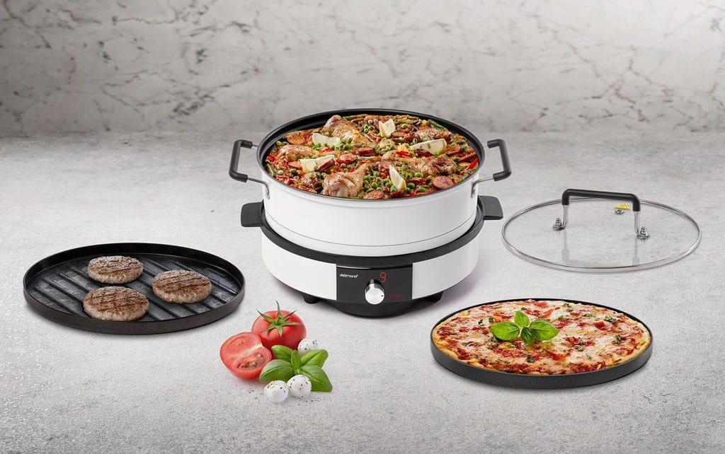 Ktorý zo spotrebičov by ste mali rozhodne mať v kuchyni, Infravarič 4v1, Delimano