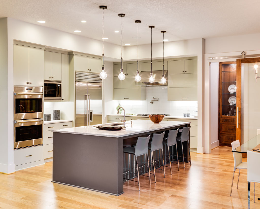 Kuchynské zostavy musia byť kreatívne a výtvarne dokonalé, kuchyňa