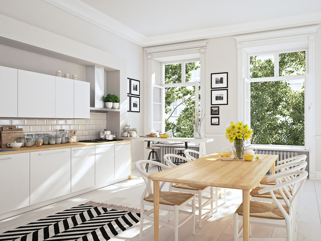 Kuchynské zostavy musia byť kreatívne a výtvarne dokonalé