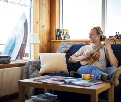 Surfista Heidar 22° – perfektný moment na relax, Vaillnat