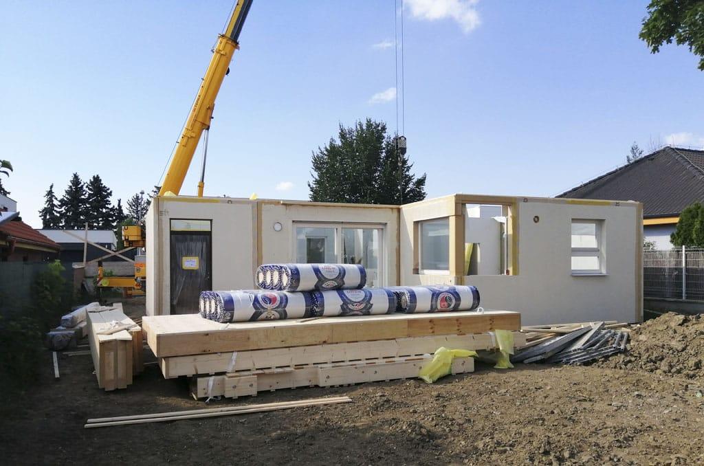 Stavba domu na kľúč nielen pre mladých Atrium, realizacia