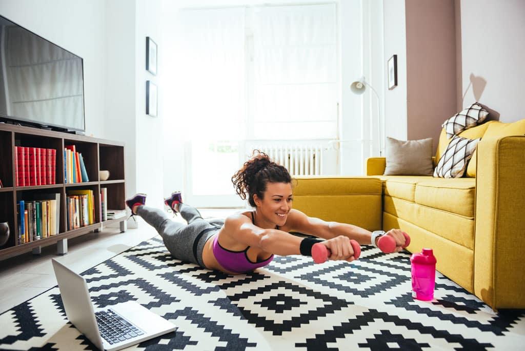 Ako si doma zariadiť priestor na cvičenie