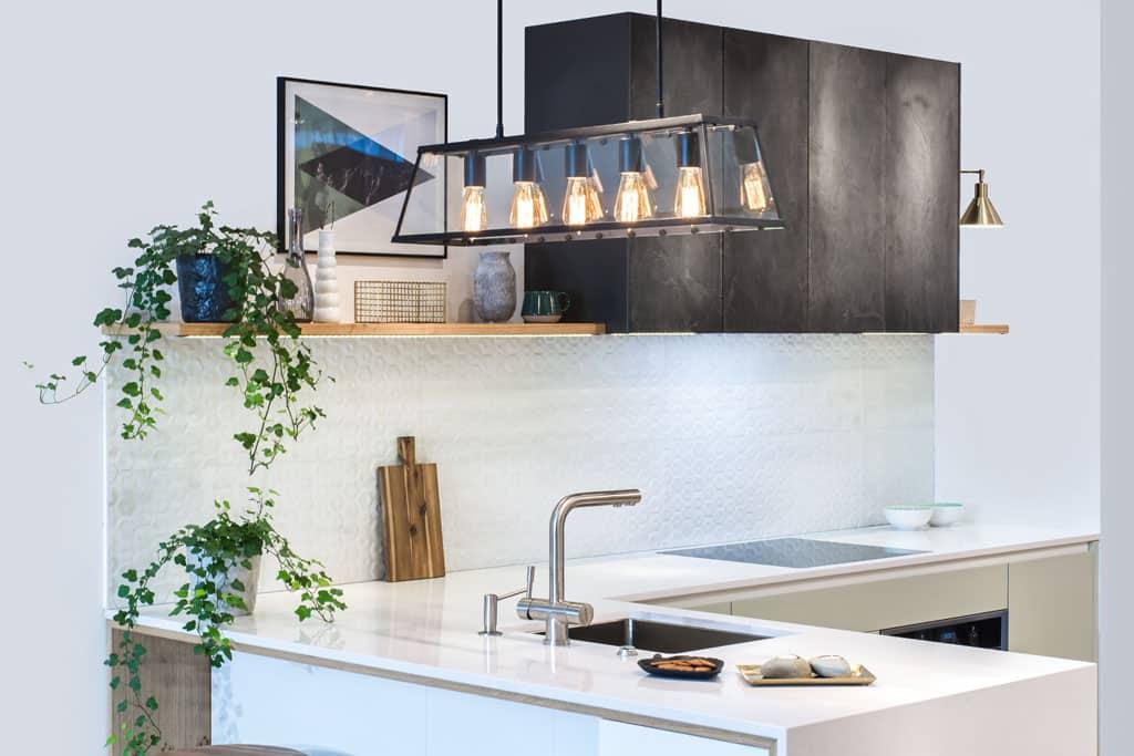 Osvetlenie v kuchyni a jedálni