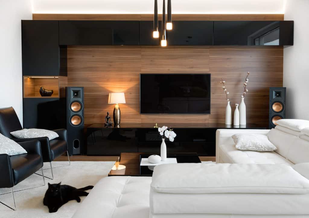Osvetlenie v obývacej izbe