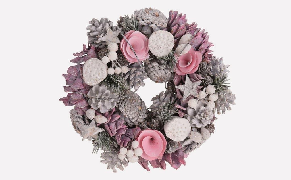Ozdobte si domov vianočnými dekoráciami, Vianocny-veniec