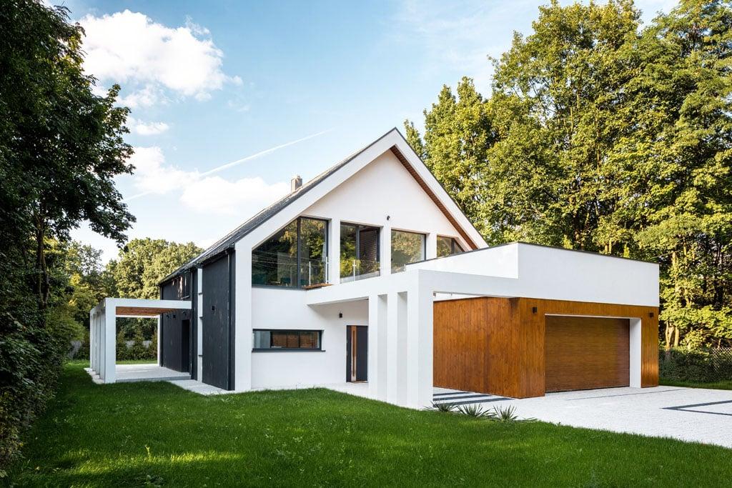 Porovnanie domu triedy A0 a domu v triede Pasívny dom