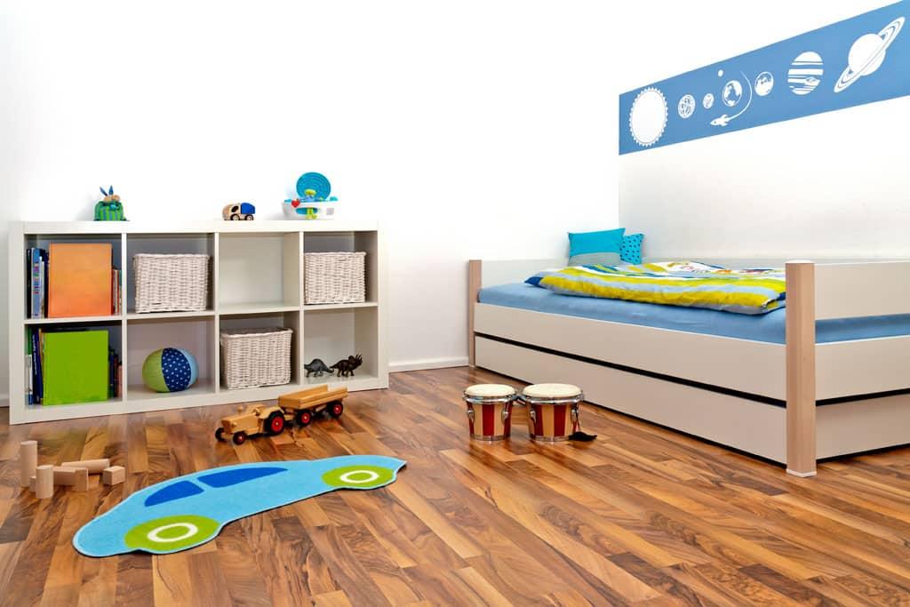 Posteľ je základ, Detská izba, ktorá porastie s deťmi, sen každého rodiča