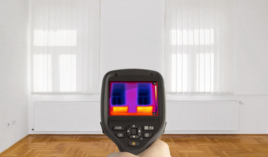 Termovízia odhaľuje úniky – straty tepla, ako ich diagnostikovať. termokamera