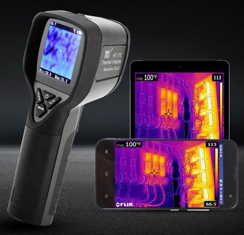 Termovízia odhaľuje úniky – straty tepla, ako ich diagnostikovať. termokamera, termomobil
