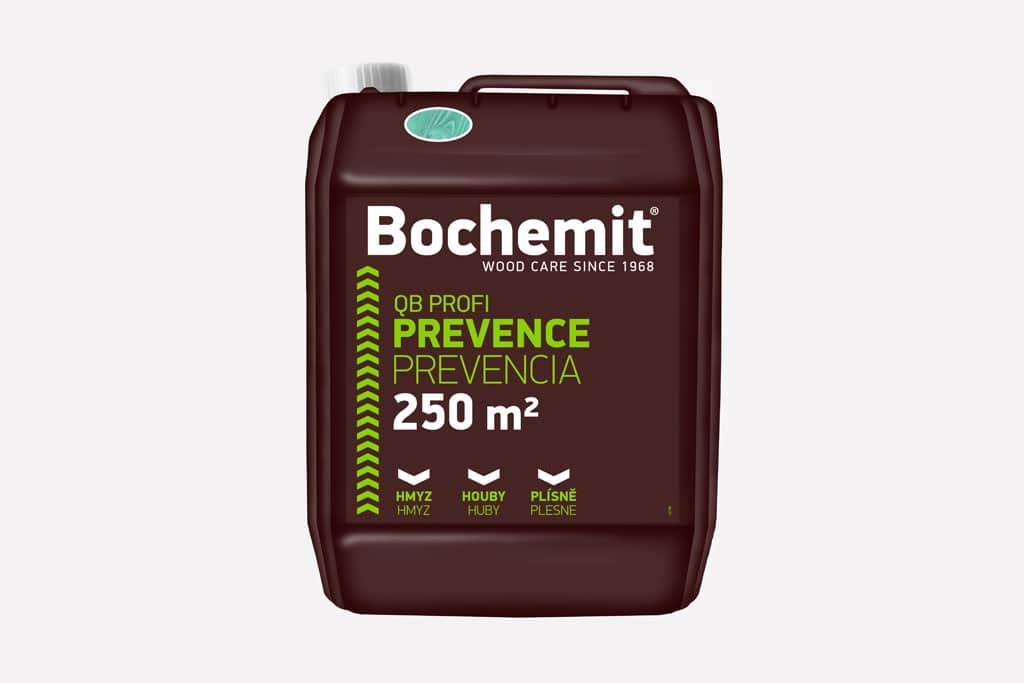 Bochemit QB Profi preventívne chráni drevo proti škodcom, zeleny
