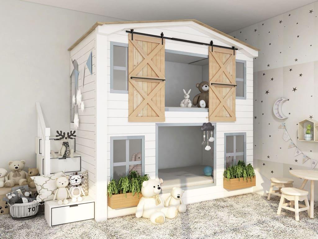 Domáca herňa – vlastný detský kútik, ktorý bude baviť nielen deti, interier, detska izba