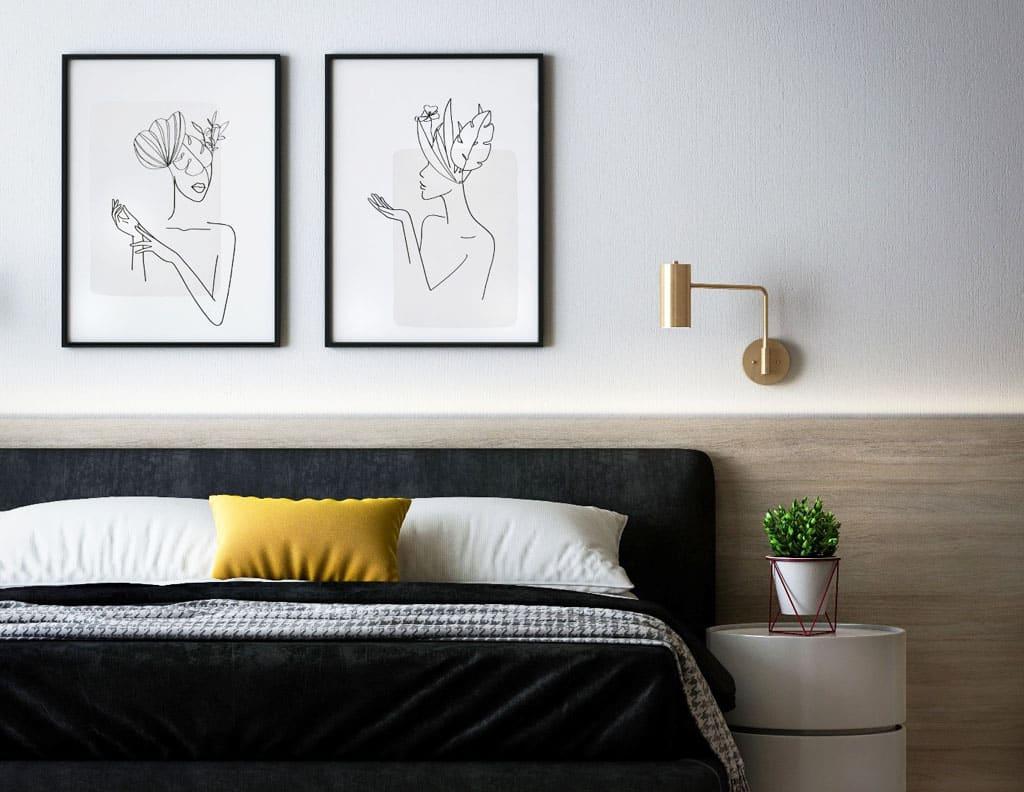 Farby roka 2021 vo vašom interiéri, Ultimate Grey a Illuminatig Yellow