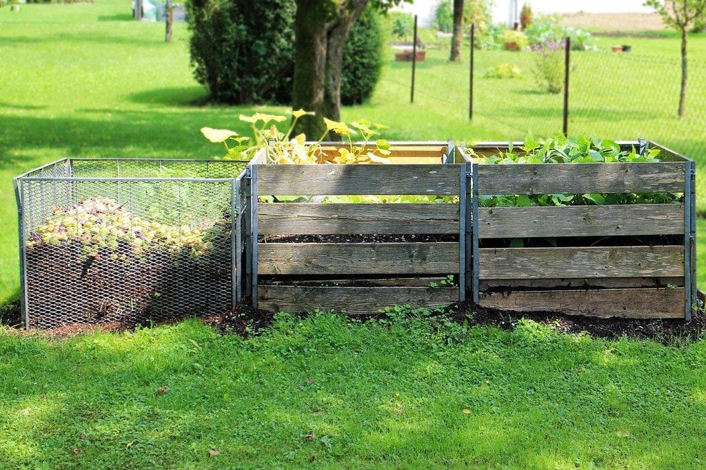 Kompostovanie v zahrade