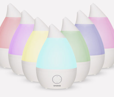 Kvalitný zvlhčovač vzduchu vytvorí u vás optimálne podmienky pre zdravší domov HUM-42 farbebna skala, Orava