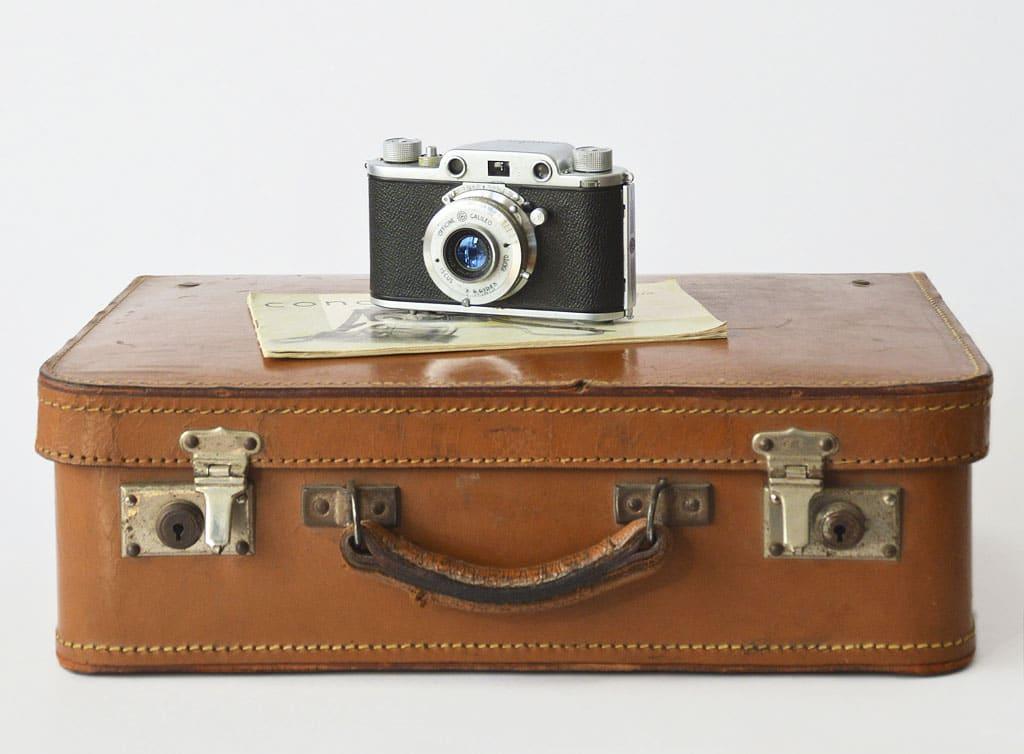 Nefunkčný fotoaparát štýlová dekorácia