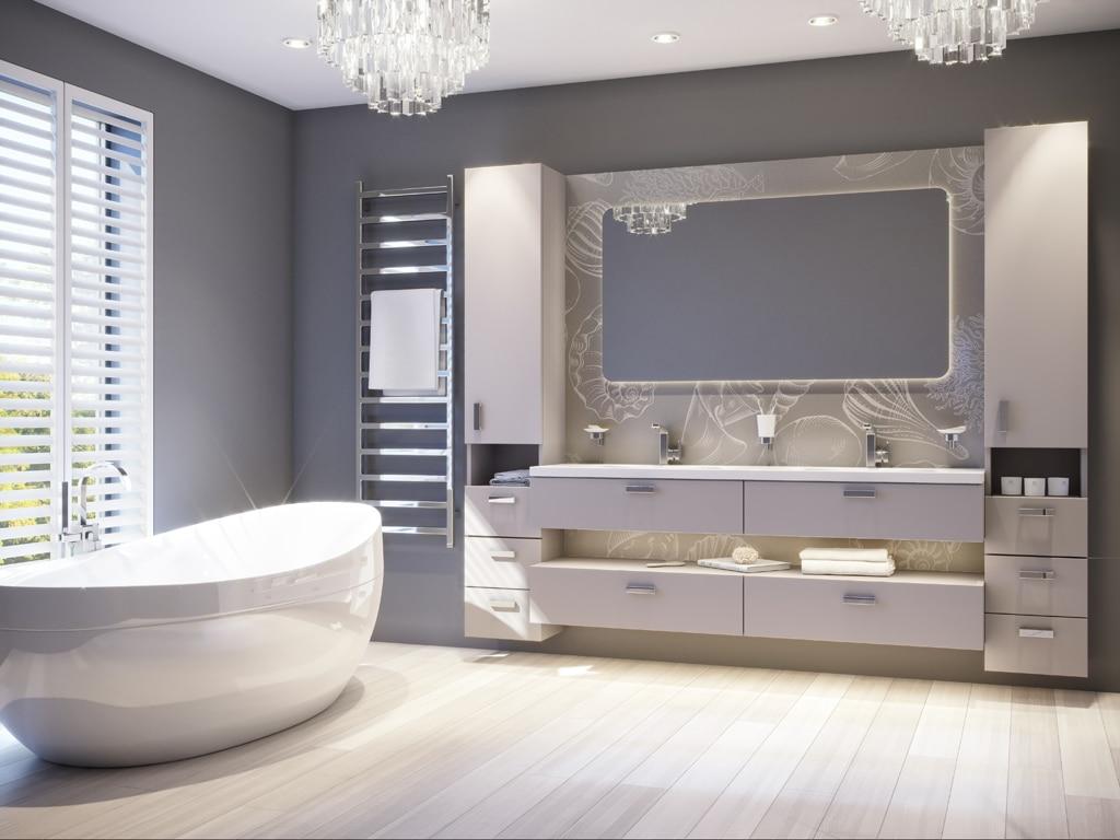 Preneste interiér do 3. tisícročia! Predstavíme vám najnovšie nábytkové a plošné materiály, T.BOARD SOFTIXX farba 0748 kupelna Trachea