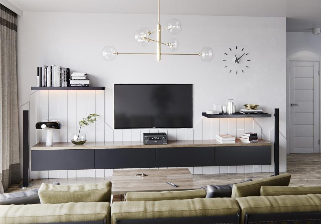 VETRIXX biela lesk kraľovská šedá matná obývačka Trachea, predstavíme vám najnovšie nábytkové a plošné materiály