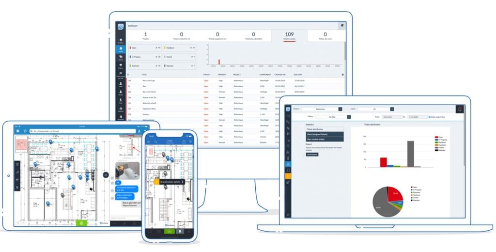 Aplikácia PlanRadar pre vsetky zariadenia