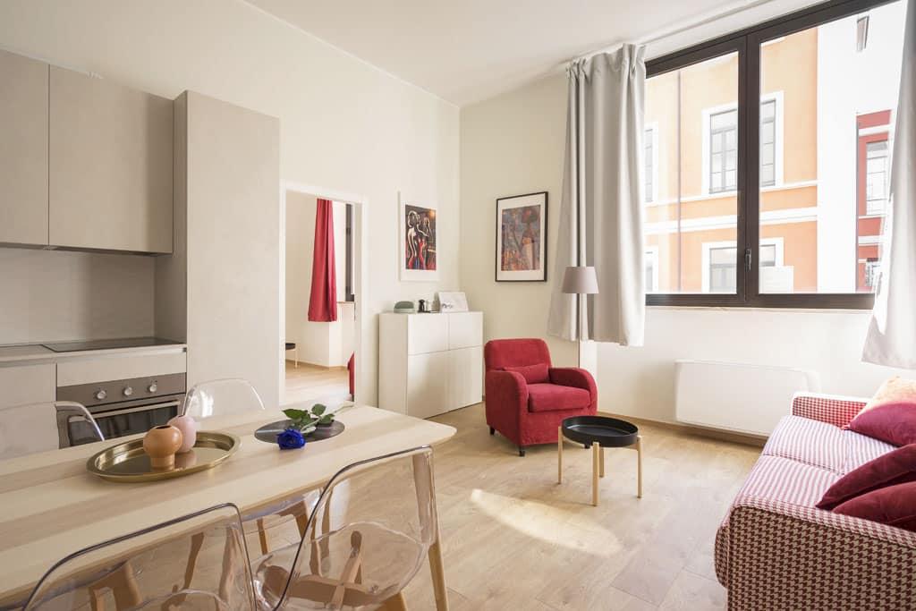 Nespájajte spálňu s obývačkou, maly byt