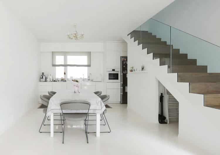 Ako prebieha inštalácia liatej podlahy, polyuretanova podlaha, interier