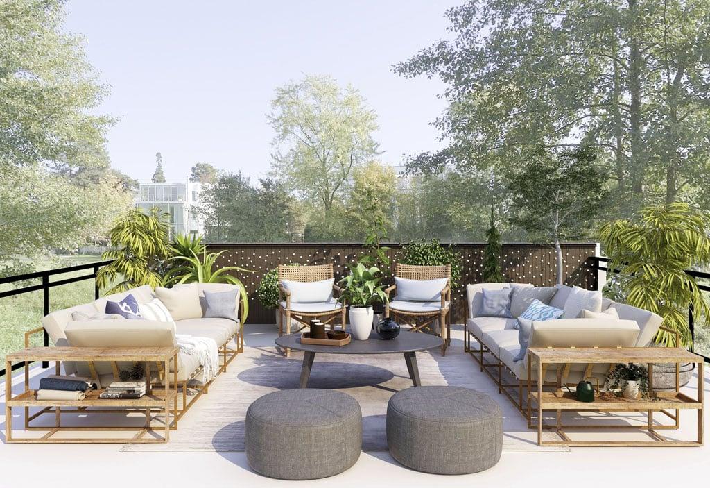 Outdoorové koberce na terasu alebo záhradu Hit tohto leta, exterier