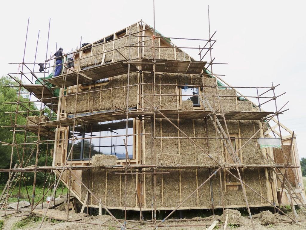 Pasívny drevoslamený dom v obci Melčice – Lieskové