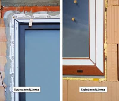 Radíme o zásadných chybách pri montáži. Montáž okien na pásky 2 časť, stavba okna technologie