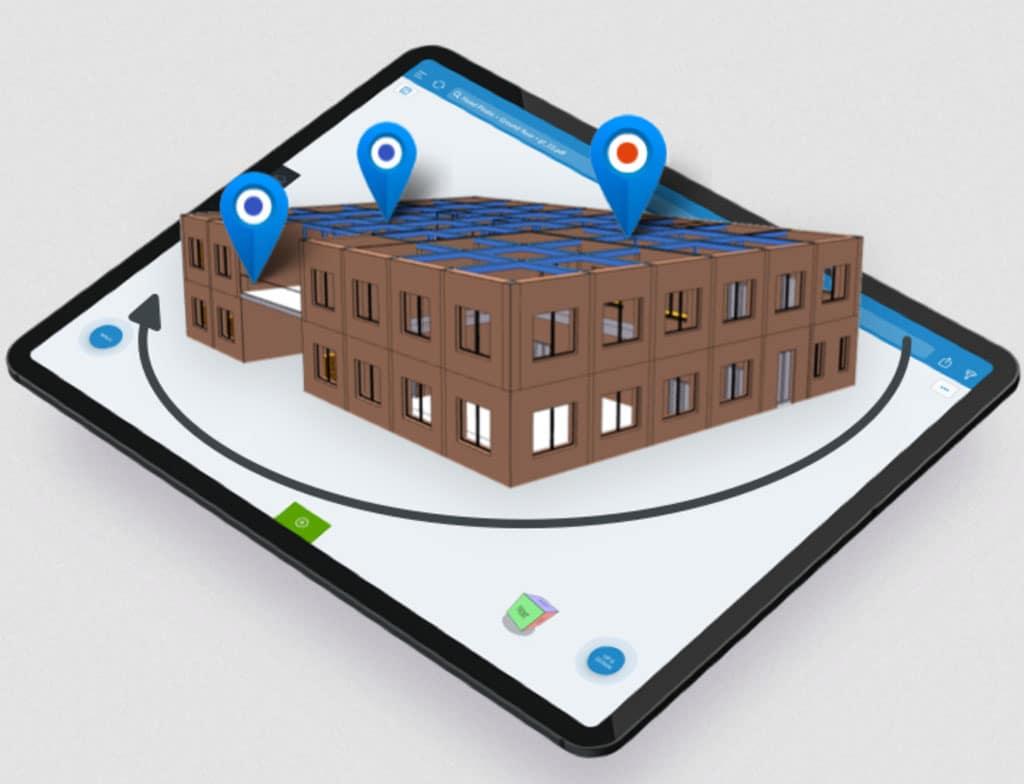 Vizualizácie z každého uhla BIM model stavby